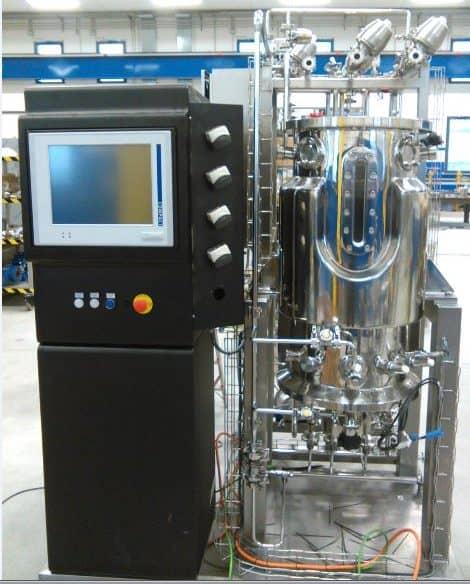 SIP/CIP Pilot 20-500L Bioreactors and Fermenters